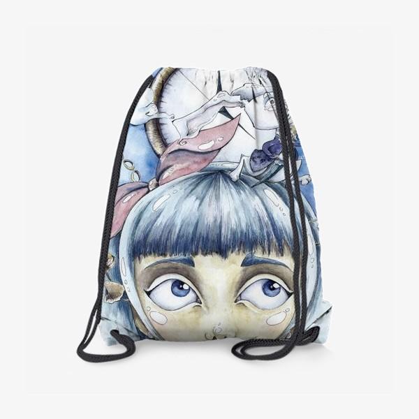 Рюкзак «встреча с белым кроликом»