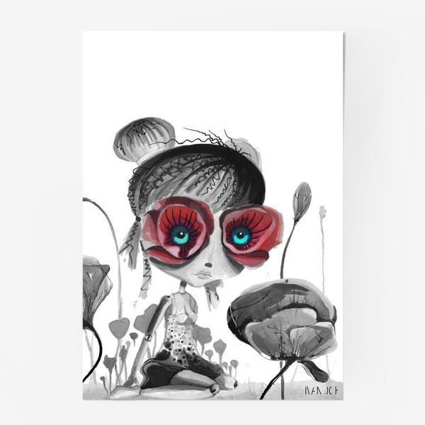 Постер «Королева Маков»