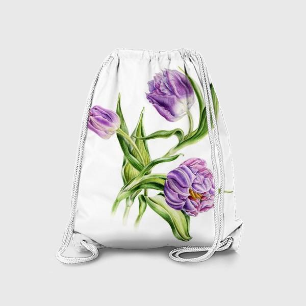 Рюкзак «Тюльпаны»