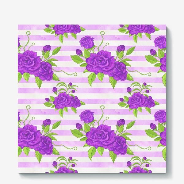 Холст «Pink Flowers»
