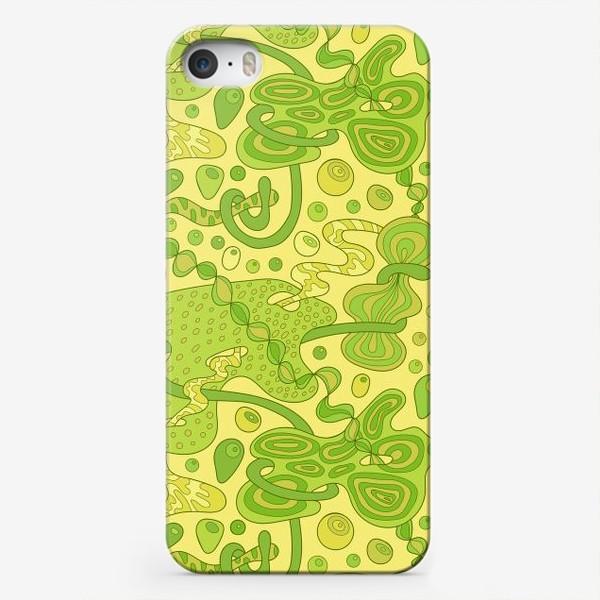 Чехол iPhone «Зеленые пузырьки »