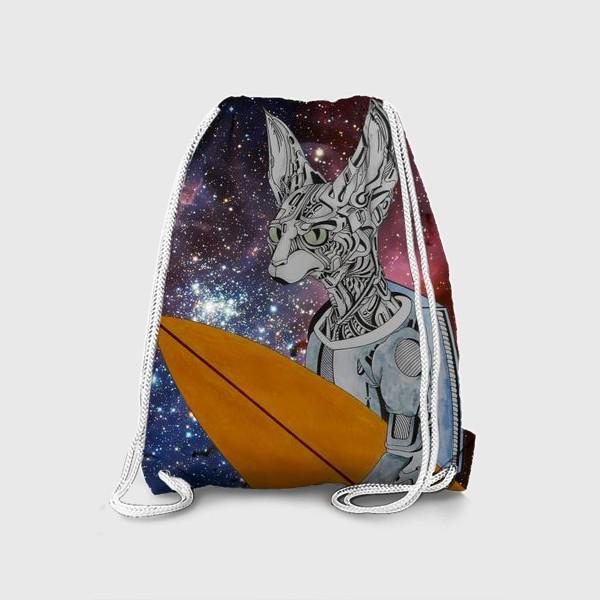 Рюкзак «кот серфер»