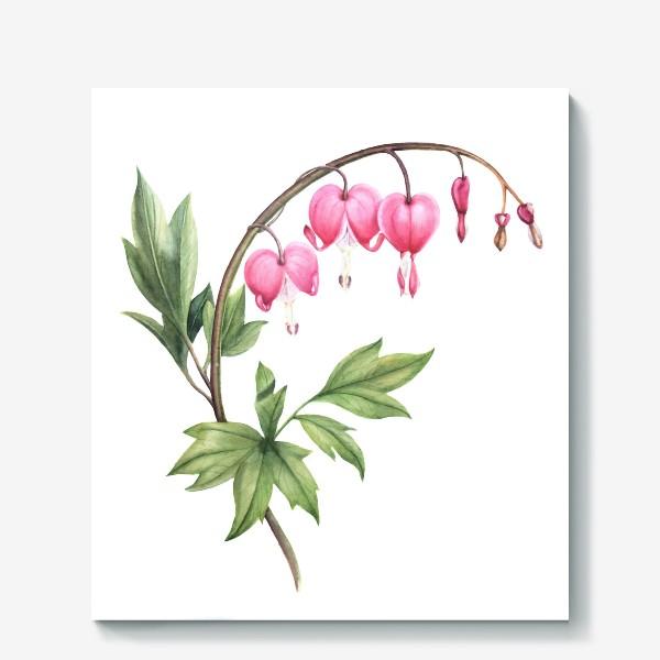 Холст «Цветок сердца»