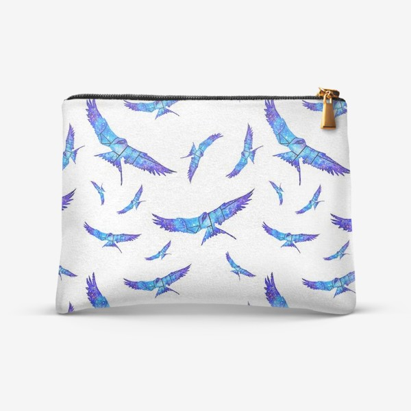 Косметичка «Синие птицы»