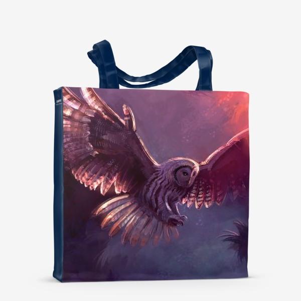 Сумка-шоппер «Owl Fly»