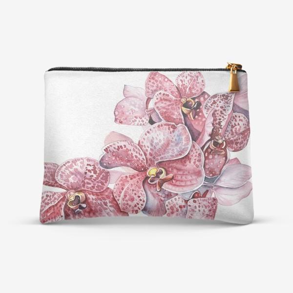 Косметичка «орхидейка красная»