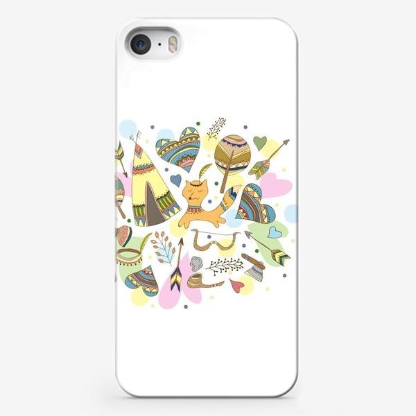 Чехол iPhone «Индейские мотивы»