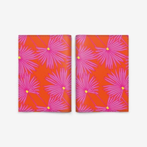 Обложка для паспорта «Гавайские мотивы»