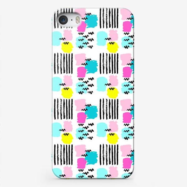 Чехол iPhone «Мемфис паттерн №1»
