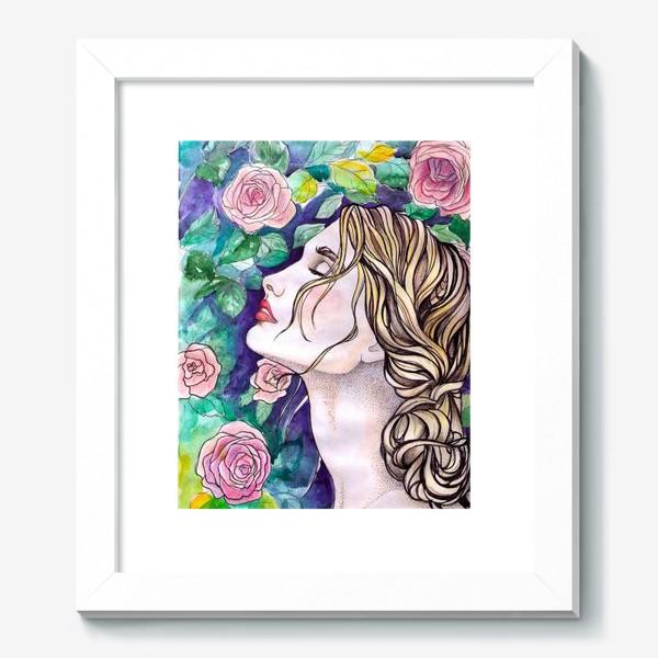Картина «Дева с розами»