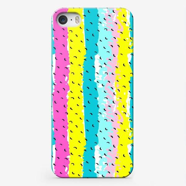 Чехол iPhone «Мемфис паттерн №2»