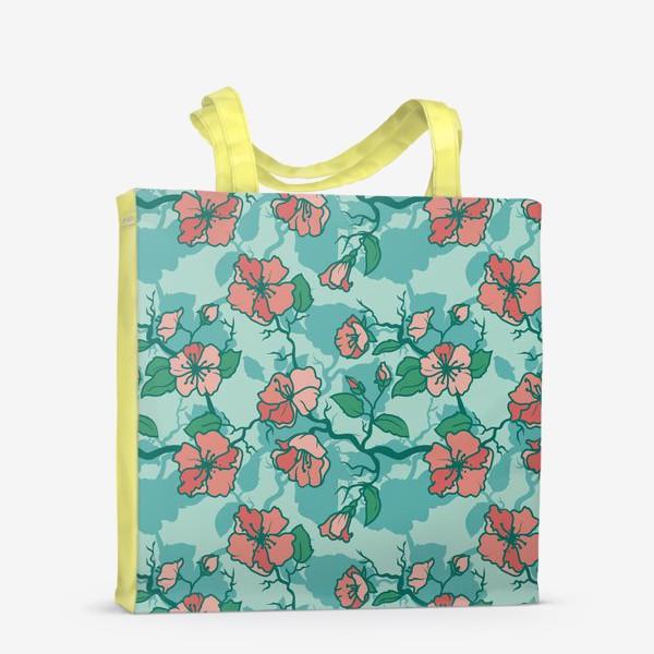 Сумка-шоппер «Цветение»
