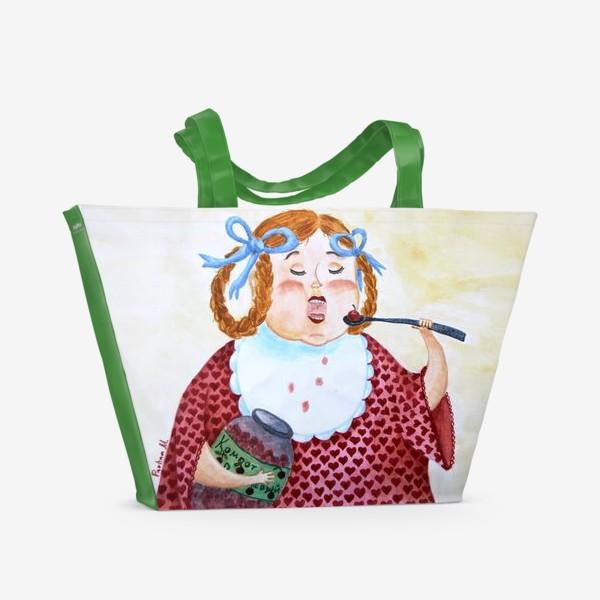 Пляжная сумка «Маруся»