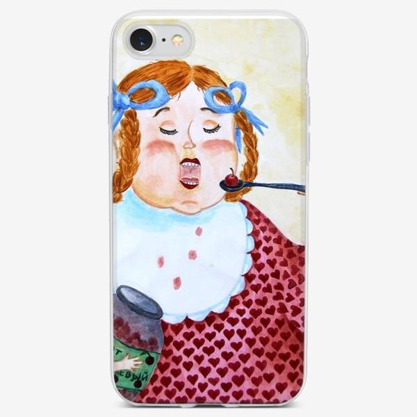 Чехол iPhone «Маруся»