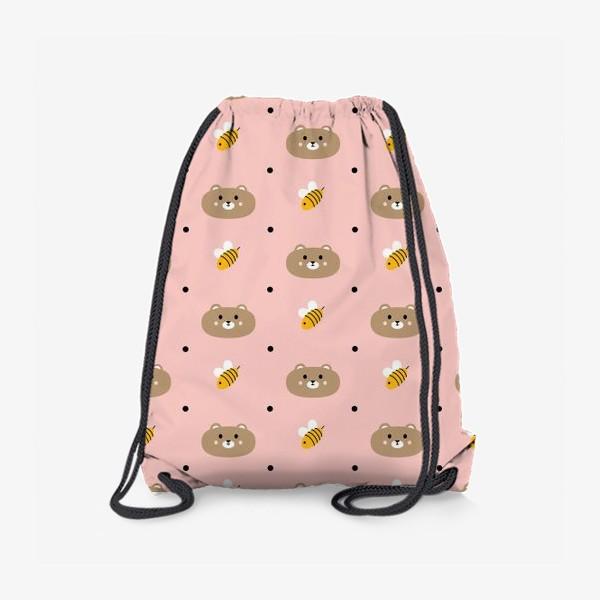 Рюкзак «Мишки и пчёлы»