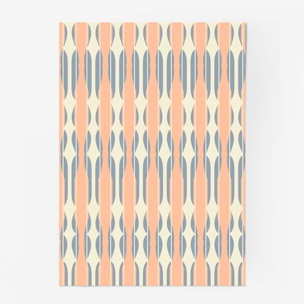 "Постер «Паттерн ""Абрикосовая калитка"" (Pattern ""Apricot Gate"")»"