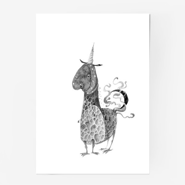 Постер «Однорожик»