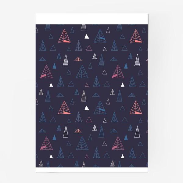 Постер «Синий лес»