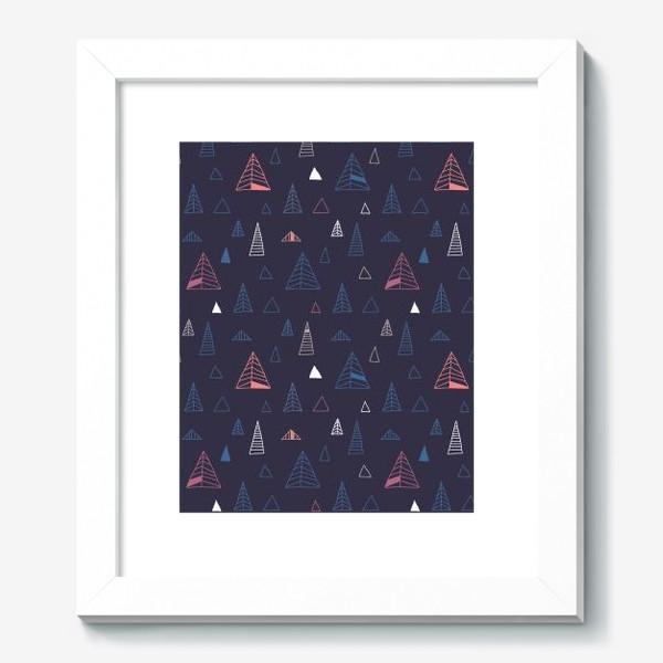 Картина «Синий лес»
