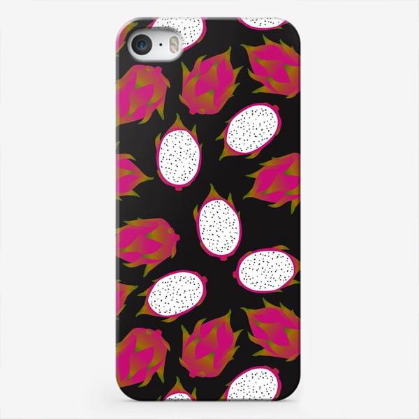 Чехол iPhone «Dragon fruit — питахайя, тропический фрукт»