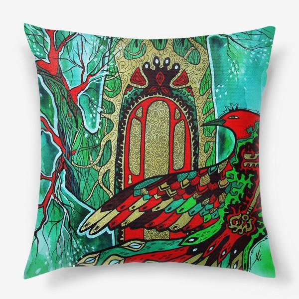Подушка «Сказочная Птица»
