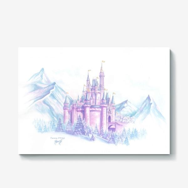 Холст «Сказочный замок»
