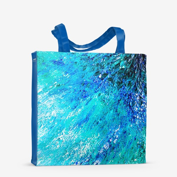 Сумка-шоппер «Море маслом »
