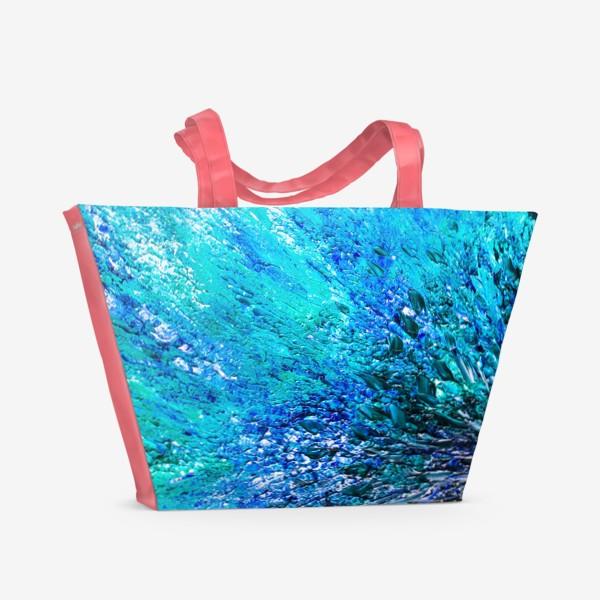 Пляжная сумка «Море маслом »