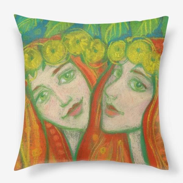 Подушка «Одуванчики»
