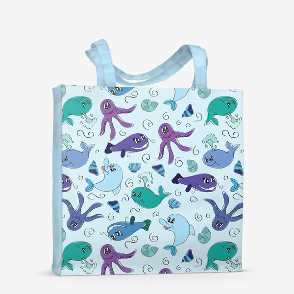 Сумка-шоппер «Морской мир»