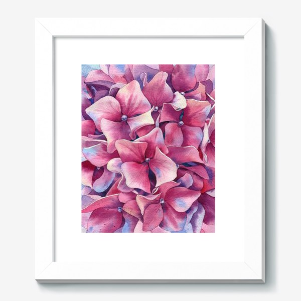 Картина « Розовая гортензия  »