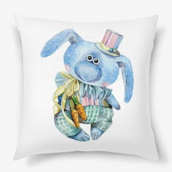 Подушка «Mr. Carrot (коллекционная игрушка Тетюшиной Ольги)»