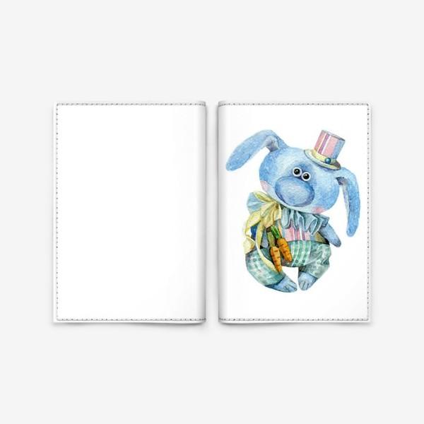 Обложка для паспорта «Mr. Carrot (коллекционная игрушка Тетюшиной Ольги)»