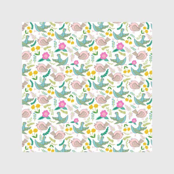 Скатерть «Птицы и цветы»