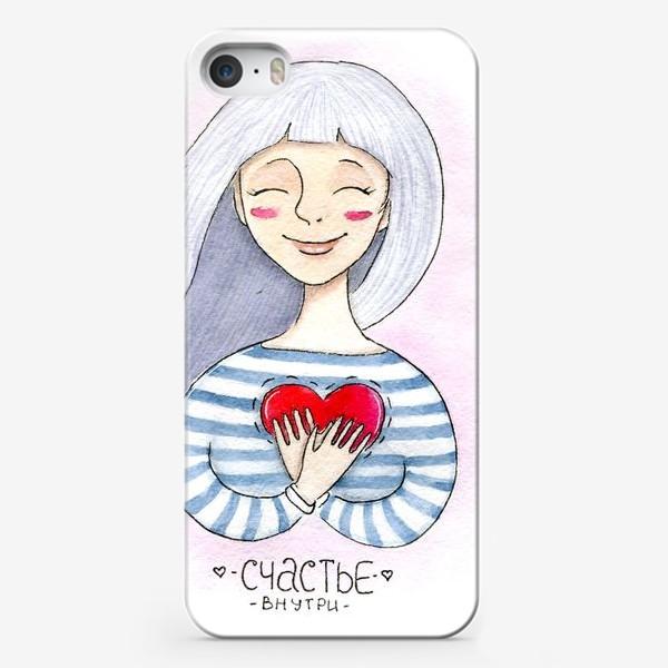 Чехол iPhone «Счастье внутри»