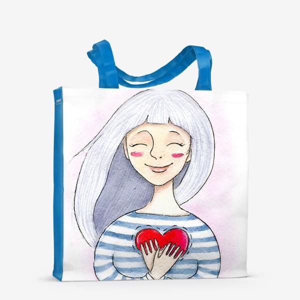 Сумка-шоппер «Счастье внутри»
