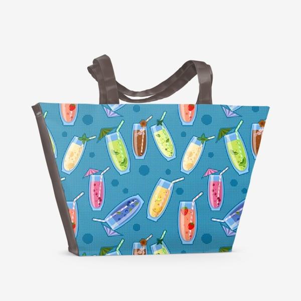 Пляжная сумка «Прохладительные напитки»