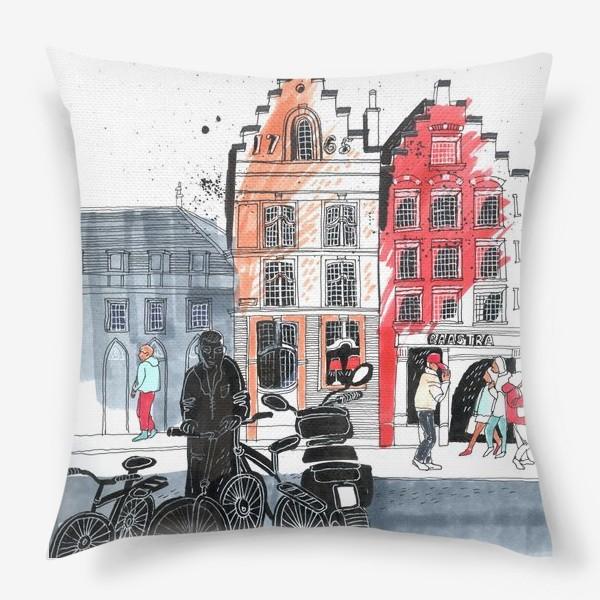 Подушка «Старый город»