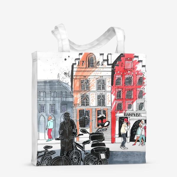 Сумка-шоппер «Старый город»