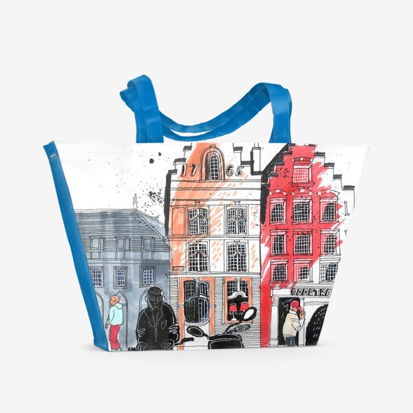 Пляжная сумка «Старый город»