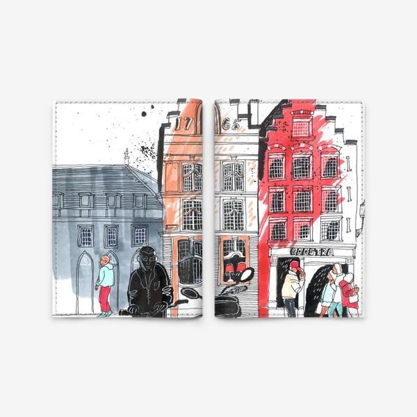 Обложка для паспорта «Старый город»