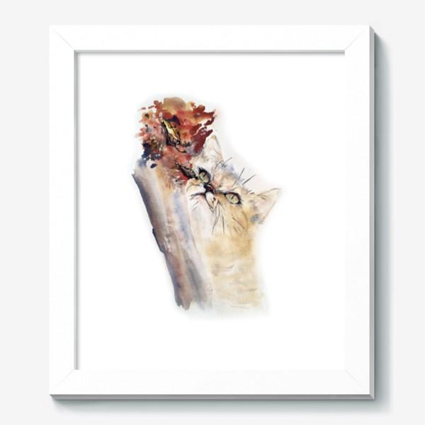 Картина «Кот осенний»