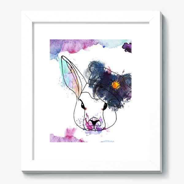 Картина «Кроль в фуражке»