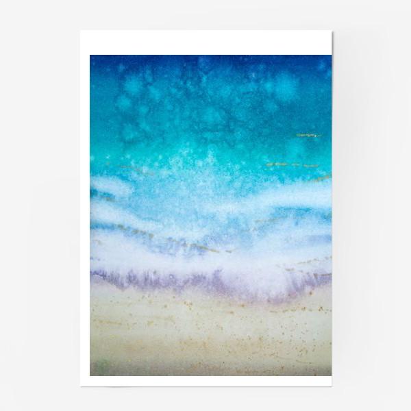 Постер «Море абстракция»