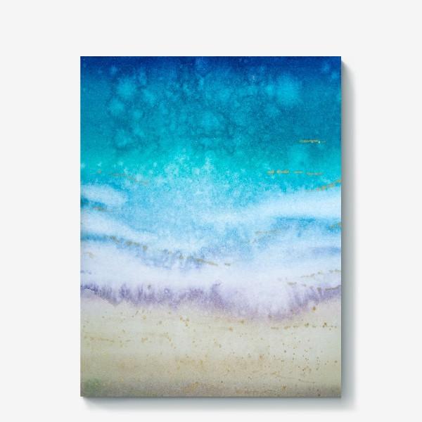 Холст «Море абстракция»