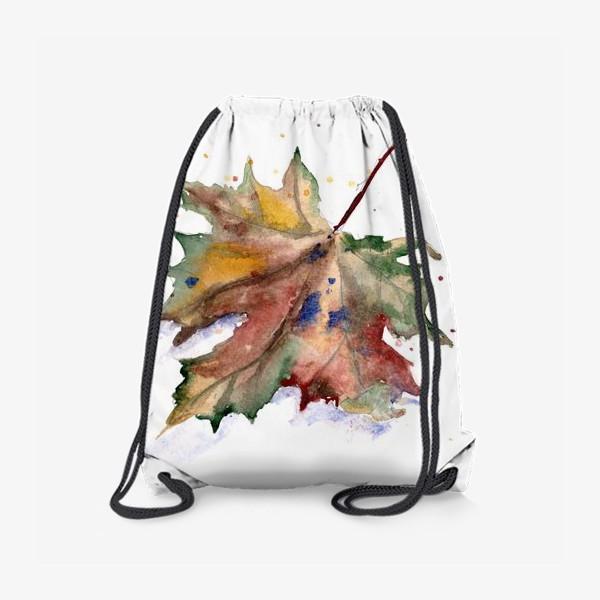 Рюкзак «Лист кленовый»