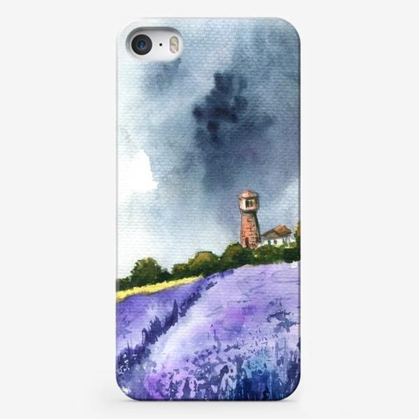 Чехол iPhone «Поле лаванды»