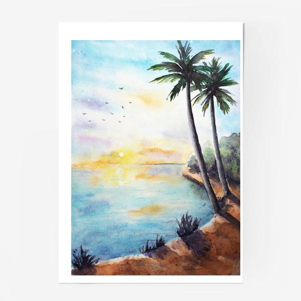 Постер «Тропики»