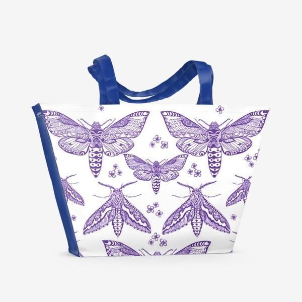 Пляжная сумка «Бражники зентарт»