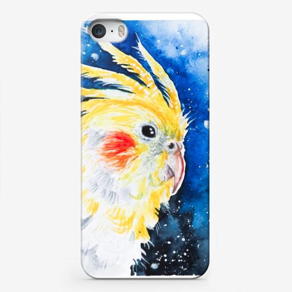 Чехол iPhone «Попугай Корелла-нимфа»